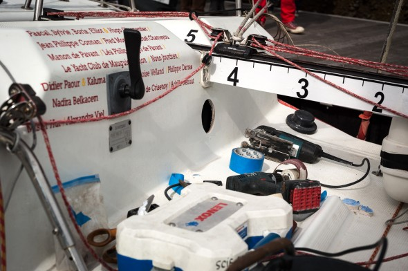 Préparation Transat AG2R La Mondiale