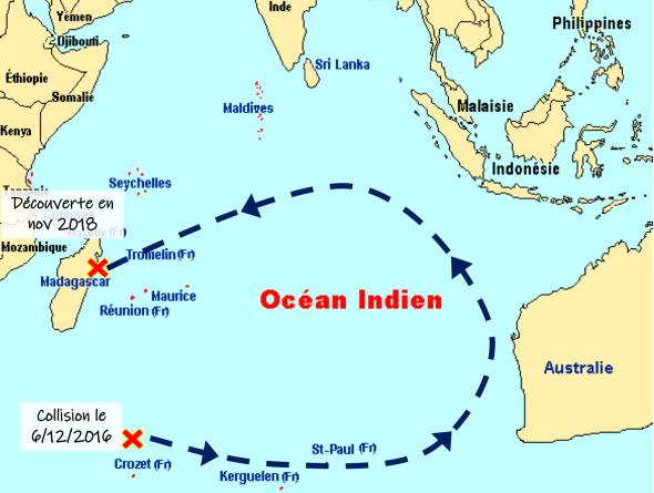 Carte indien